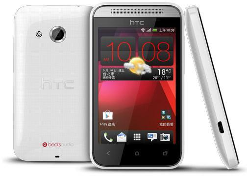 how to open htc desire phone